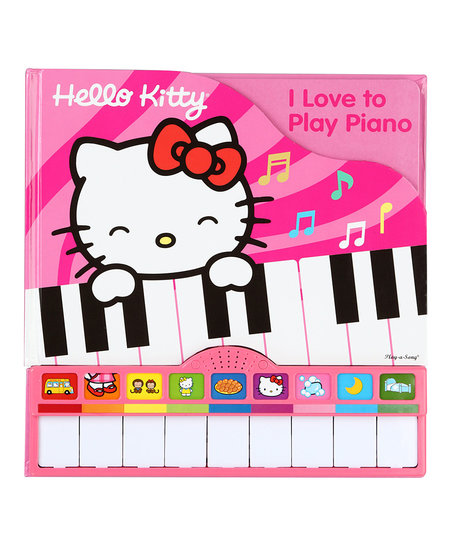 Hello Kitty: I Love to Play Piano Sound Board Book.