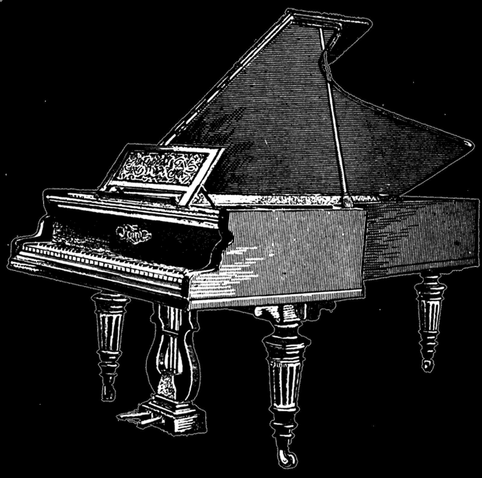 Piano Clipart Transparent.
