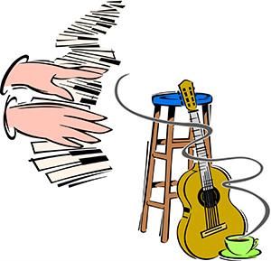 Instant guitar, piano workshops.