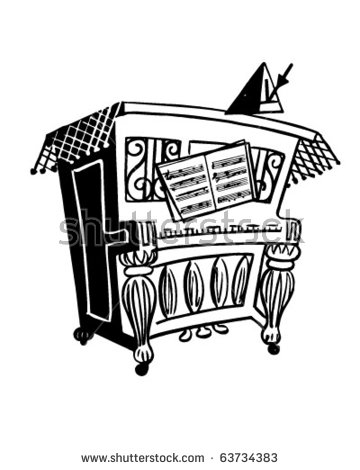 Upright Piano Stock Images, Royalty.