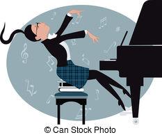 Pianoforte Clipart and Stock Illustrations. 363 Pianoforte vector.