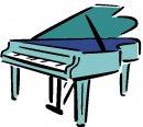 clip art PIANOFORTE: immagini musica.