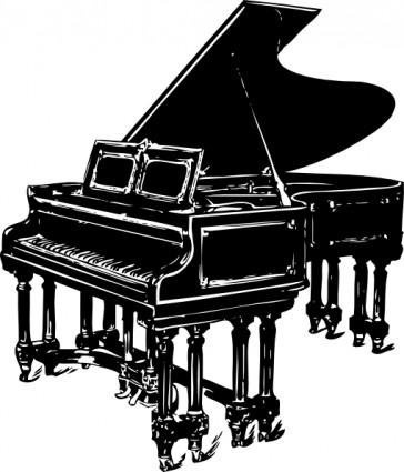 Piano Clipart.