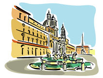 Piazza Clipart by Megapixl.
