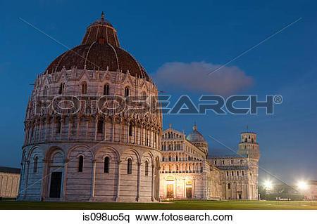 Stock Image of Piazza dei miracoli, Pisa, Italy is098uo5q.