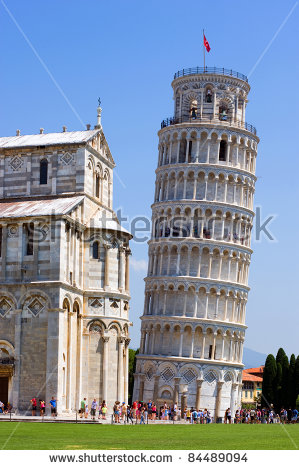 Piazza Dei Miracoli Complex Leaning Tower Stock Photo 84489133.
