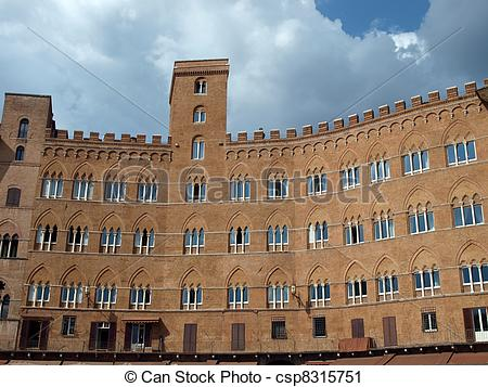 Stock Photography of Siena.