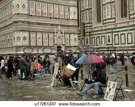 Picture of Florence, Tuscany, Italy, Firenza, Toscana, Europe.