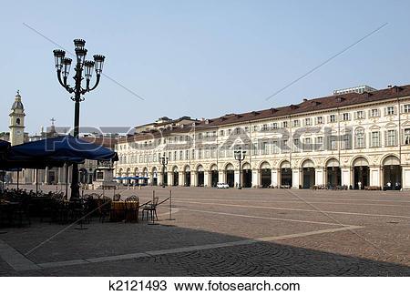 Stock Photo of Piazza San Carlo, Turin k2121493.