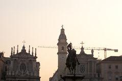 San Carlo Square In Turin/Torino, Italy Stock Image.