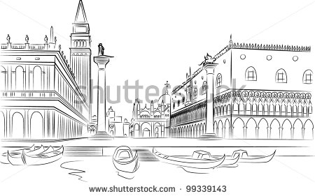 1000+ images about Venice vector drawings on Pinterest.