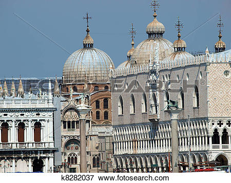 Picture of Seaview of Piazzetta, San Marco and The Doge's Palace.