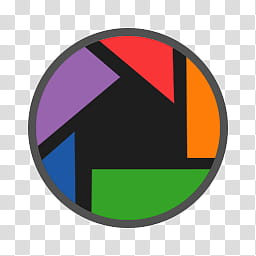 Circular Icon Set, Picasa, Picasa icon transparent.