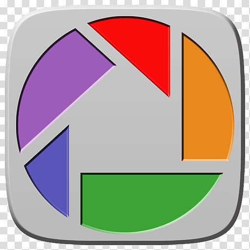Marei Icon Theme, Picasa logo art transparent background PNG.