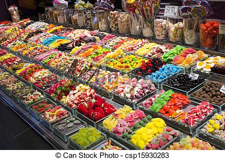 Pictures of Pick and mix selection.