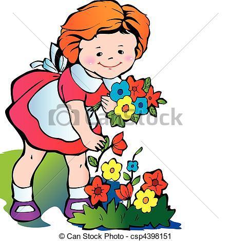 Pick flowers clipart 2 » Clipart Portal.