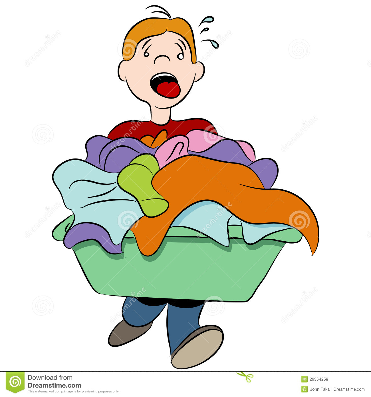 Download Free png Boy putting on clothes clipart collection.