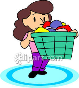 Dirty Clothes Clipart.