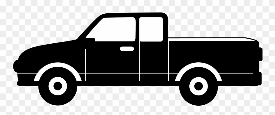 Toyota Pickup Truck Clipart.