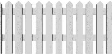 Picket Fence Clip Art, Picket Fence Free Clipart.