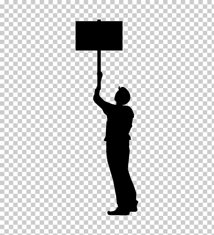 Protest , Picket sign PNG clipart.