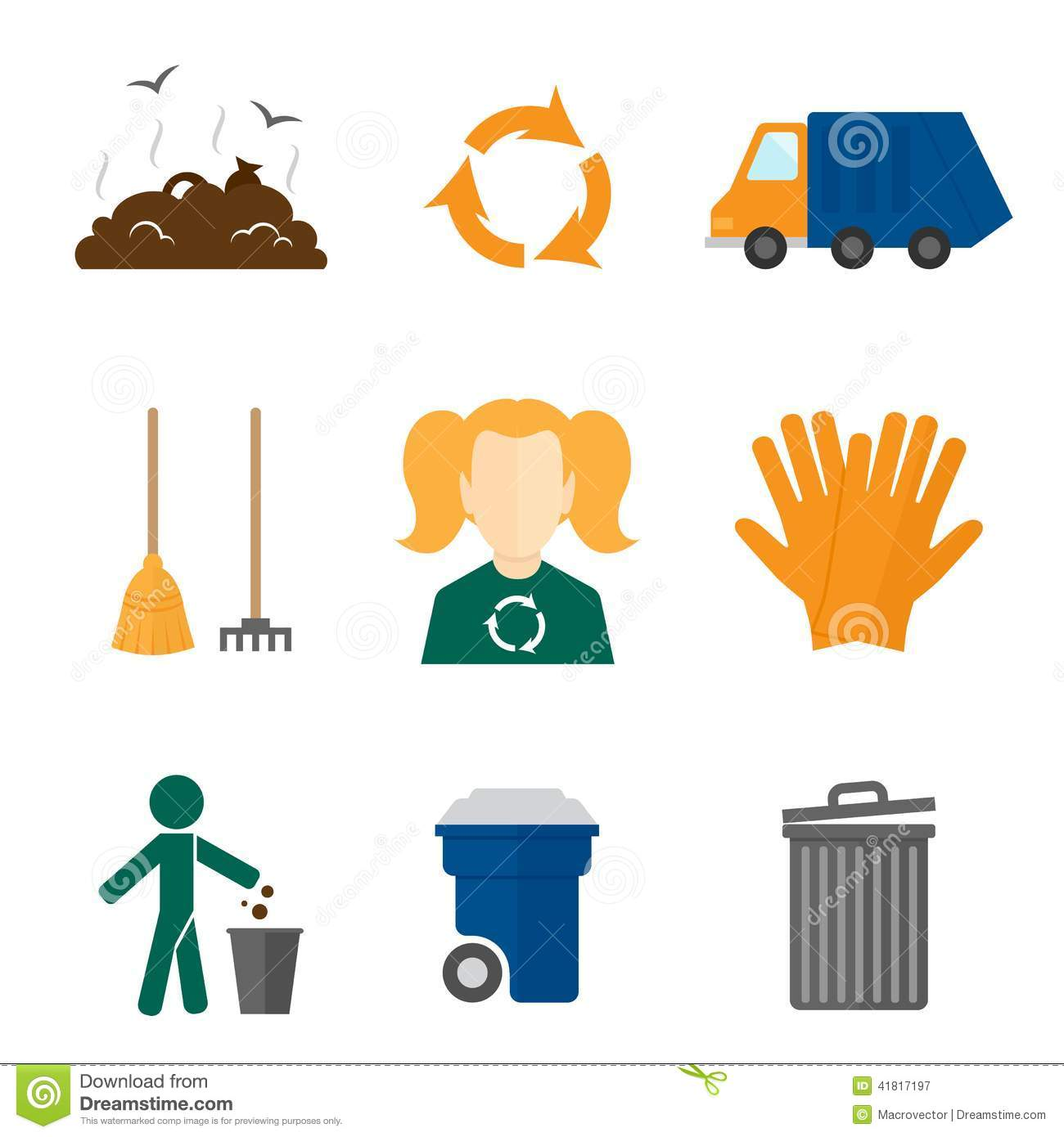 Pieces Of Trash Clipart.