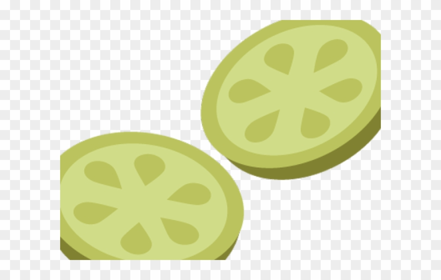 Pickle Clipart Pickle Slice.