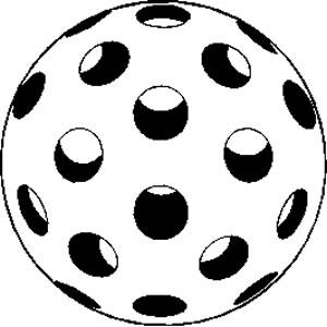 Wiffle Ball Clipart.