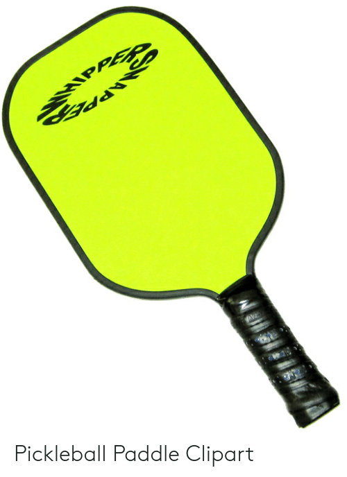 Bd Pickleball Paddle Clipart.