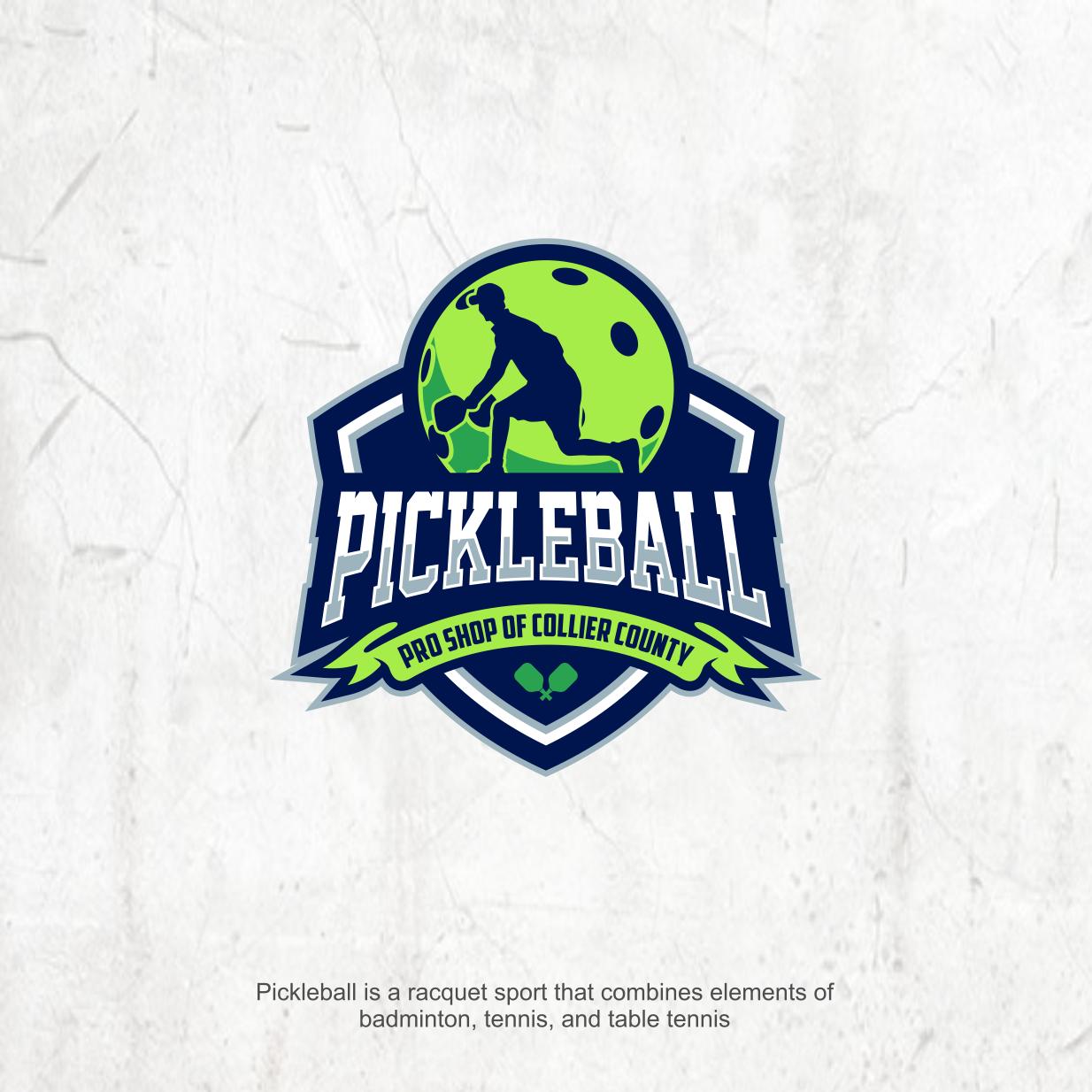 Playful, Modern, Sporting Good Logo Design for Pickleball.