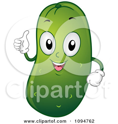 Clipart Pickle Floating In A Jar.