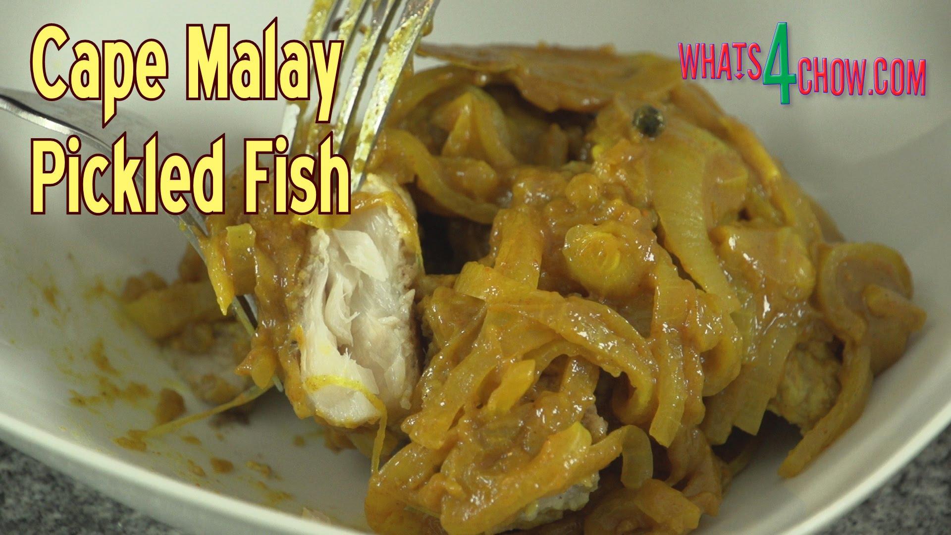 Cape Malay Pickled Fish.