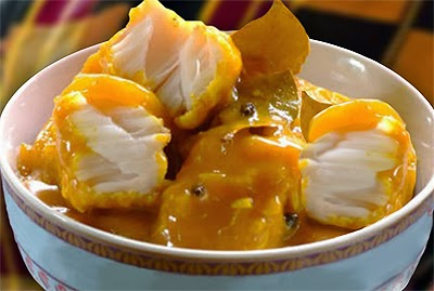 Cape Malay Pickled Fish Recipe from South Africa. Kaapse Karrievis.