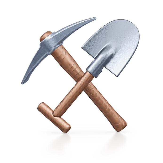 Pick And Shovel Clipart.