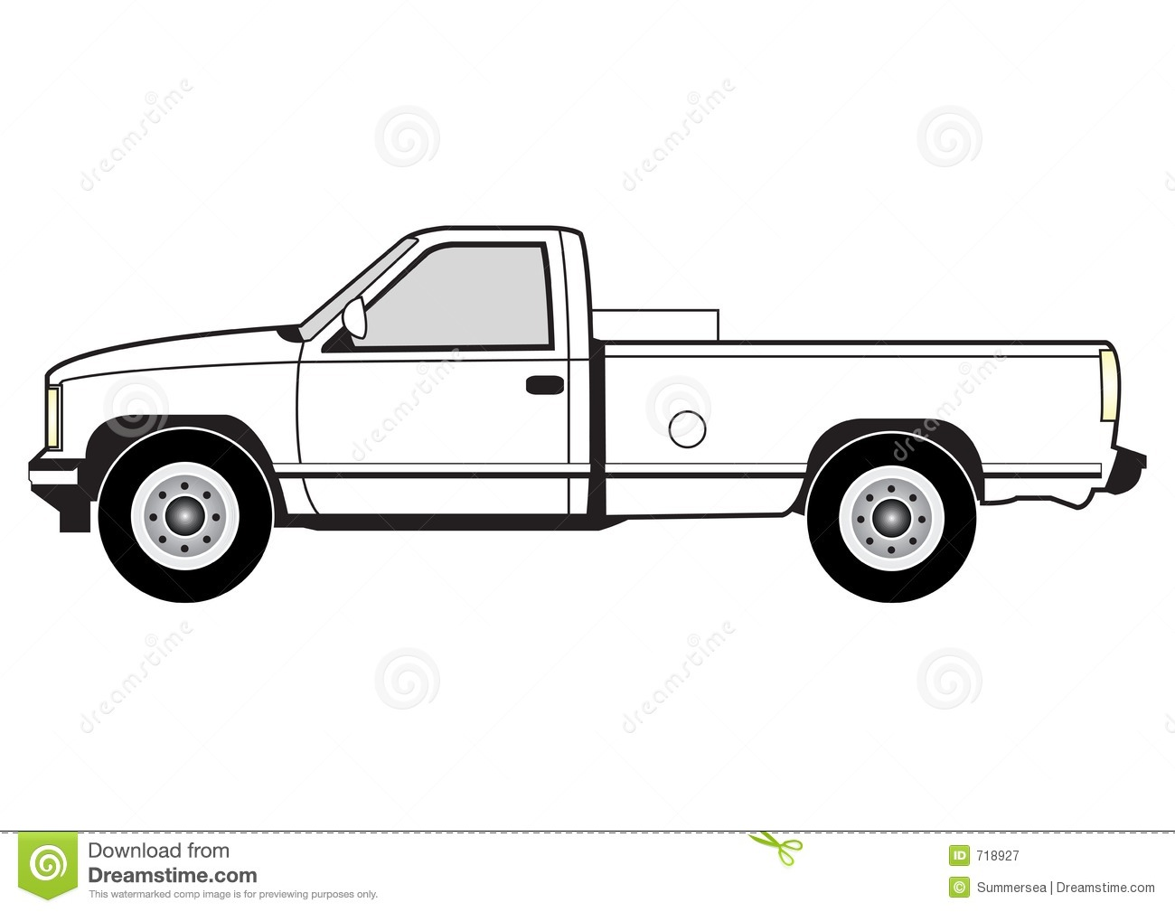 Free pickup clipart.
