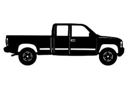 Ford Pickup Truck Clipart.