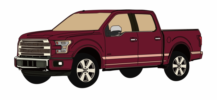 This Free Icons Png Design Of Pickup Truck.
