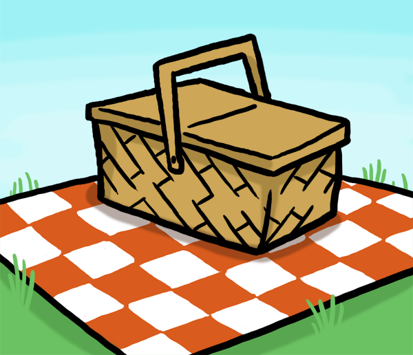 picnic at park table clipart clipground. Black Bedroom Furniture Sets. Home Design Ideas