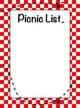 Pix For > Free Picnic Border Clip Art.
