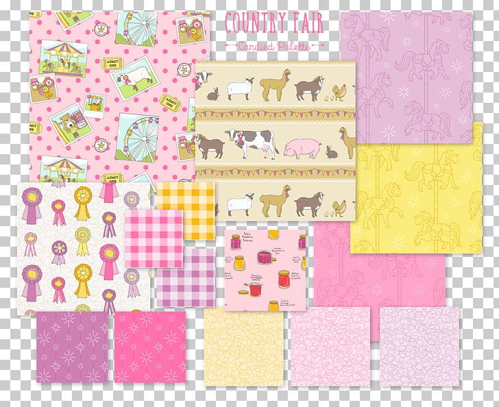 Paper Place Mats Pink M Line, picnic cloth PNG clipart.