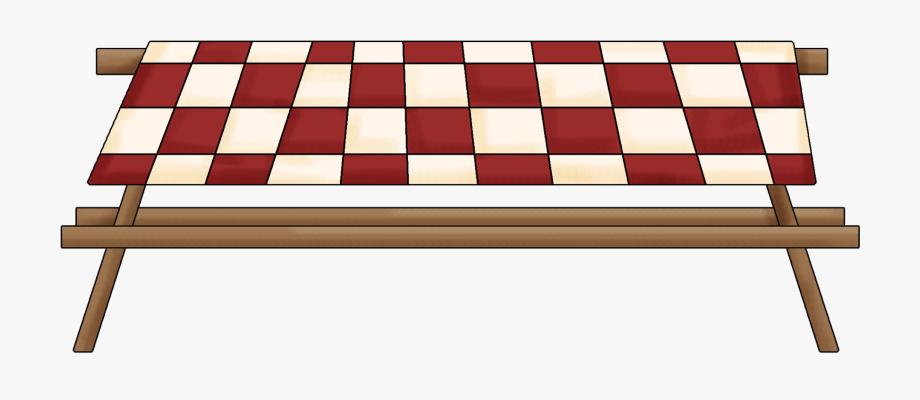 Picnic Table Clip Art Border.