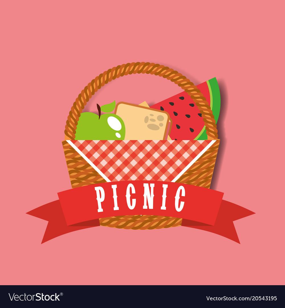 Picnic food image.