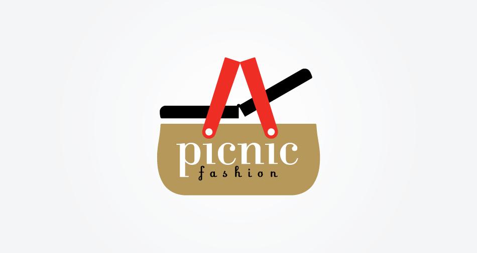 Andrew Newman Design picnic fashion logotype.