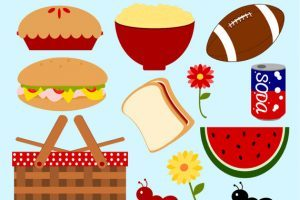 Picnic lunch clipart 2 » Clipart Portal.