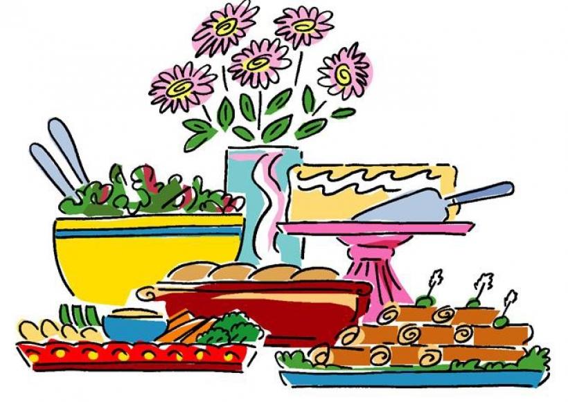 Picnic Food Clipart.