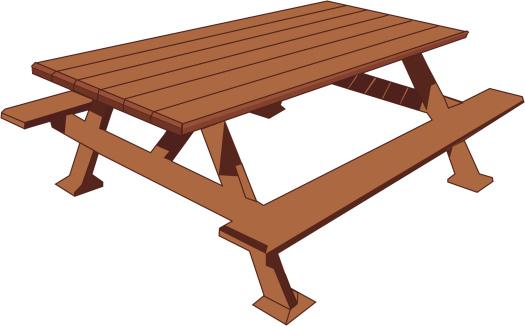 Picnic Table Clip Art Picnic tables clipart ...
