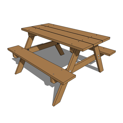 How to build a round wooden picnic table woodworkingmunity.