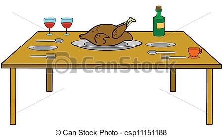 picnic table with food clipart transparent background ...