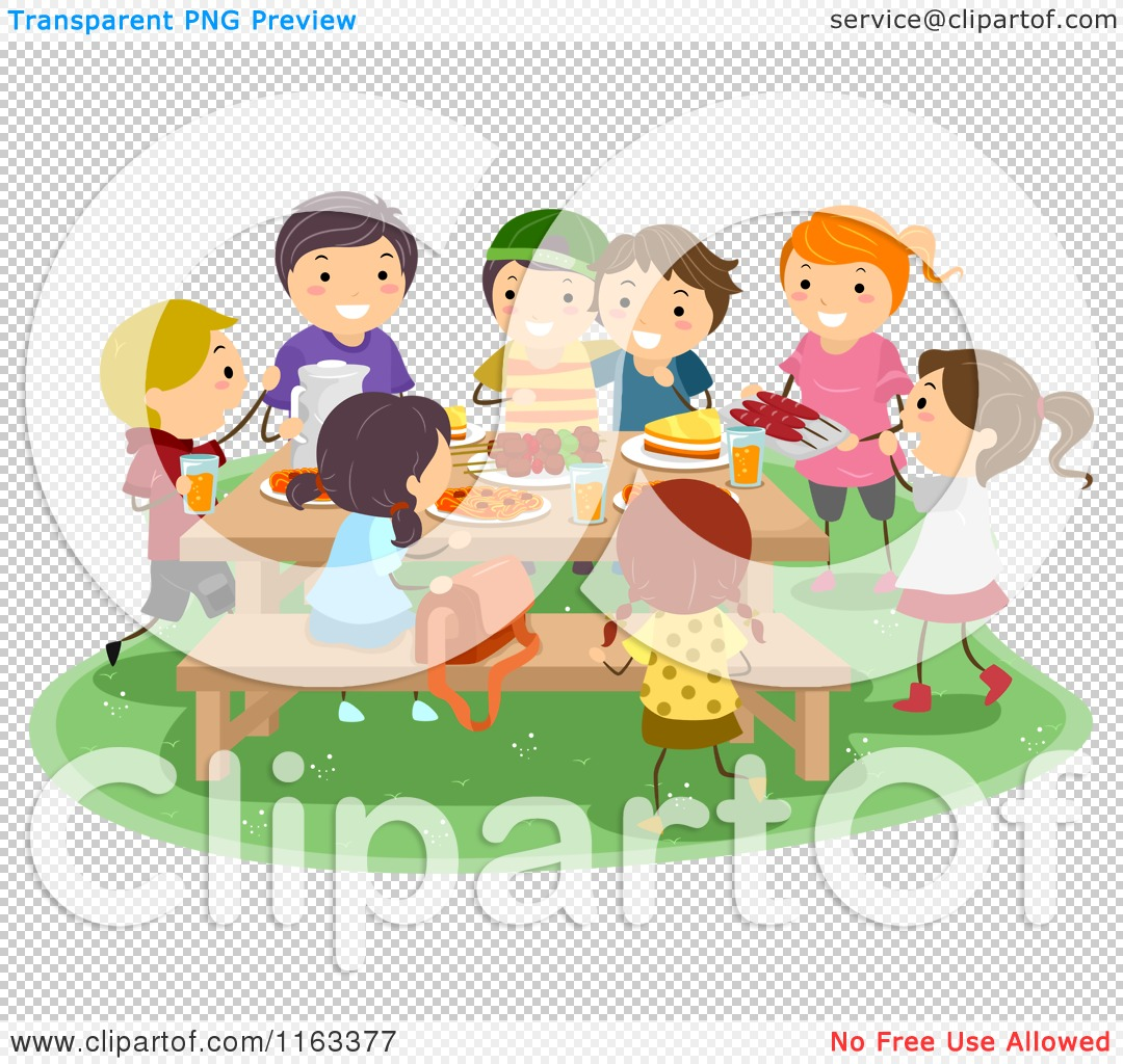 Showing post & media for Cartoon picnic table with people.