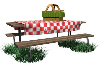 Picnic Table Clip Art & Picnic Table Clip Art Clip Art Images.